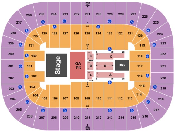 Greensboro Coliseum At Greensboro Coliseum Complex Miranda Lambert 2019