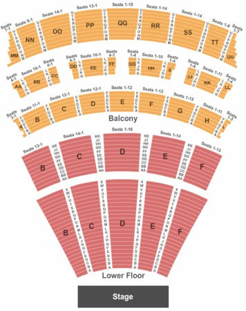 Music Hall At Fair Park Tickets In Dallas Texas Seating