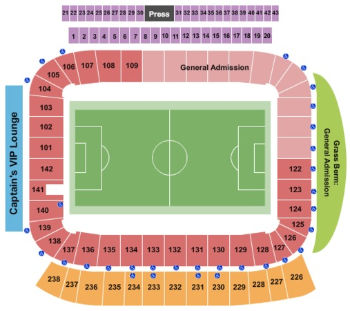 StubHub Center - Soccer Stadium Tickets in Carson ...