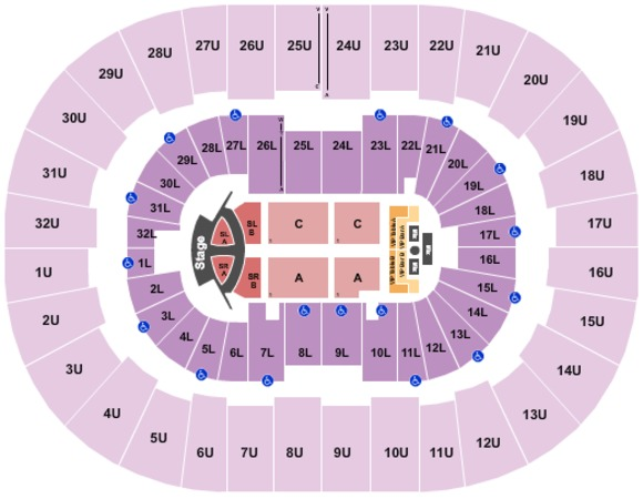 Legacy Arena at The BJCC Jonas Brothers 2