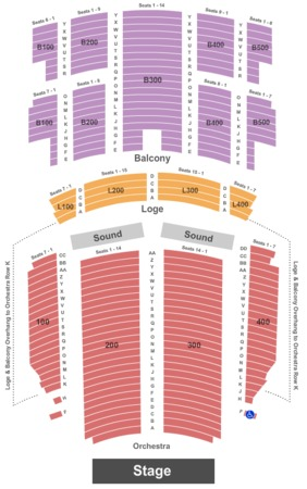 florida theatre seating chart - Pinep.handshakeapp.co