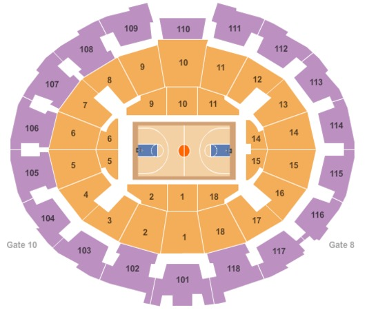 Purcell pavilion at joyce center tickets in notre dame indiana