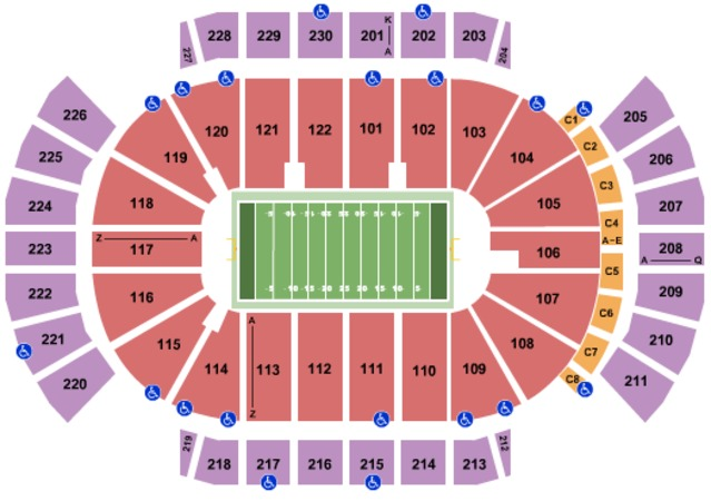 Gila River Arena Woman's Football