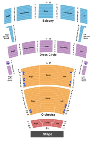 Chrysler hall tickets in norfolk virginia chrysler hall seating