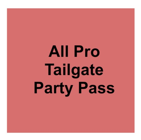 All Pro Tailgate Party Tent