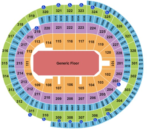 Canadian Tire Centre Generic Floor