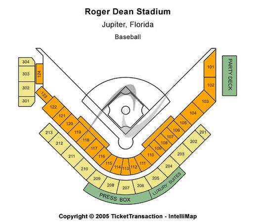 Roger dean stadium tickets in jupiter florida roger dean stadium