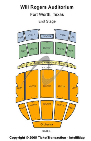 Will Rogers Coliseum Tickets In Fort Worth Texas Seating