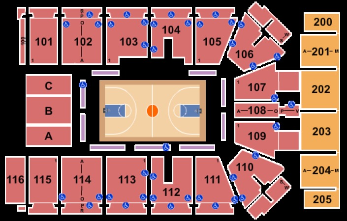 Tyson Events Center Gateway Arena Tickets In Sioux City