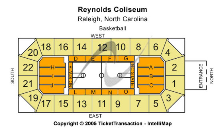 Reynolds Coliseum Tickets In Raleigh North Carolina