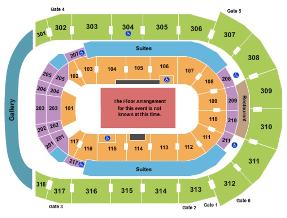 Budweiser Gardens Tickets In London Ontario Budweiser Gardens Seating Charts Events And Schedule