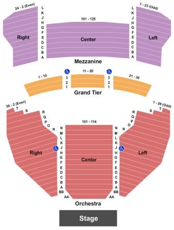 Meyer Theatre End Stage