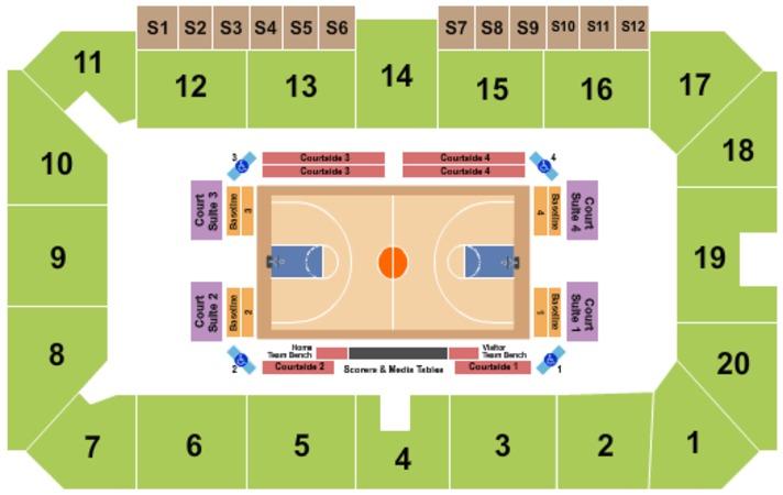 Sudbury Arena Seating Chart