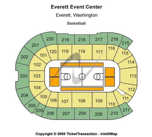 Houston Rockets On Xfinity: Comcast Arena At Everett Tickets In Everett Washington