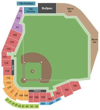 Spectrum Field Seating Chart
