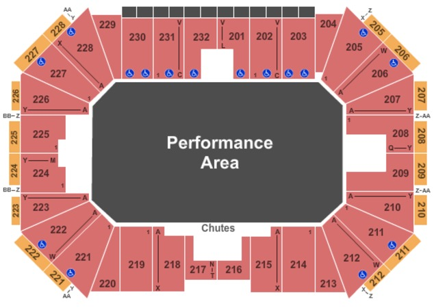 Silver Spurs Arena Tickets In Kissimmee Florida Silver