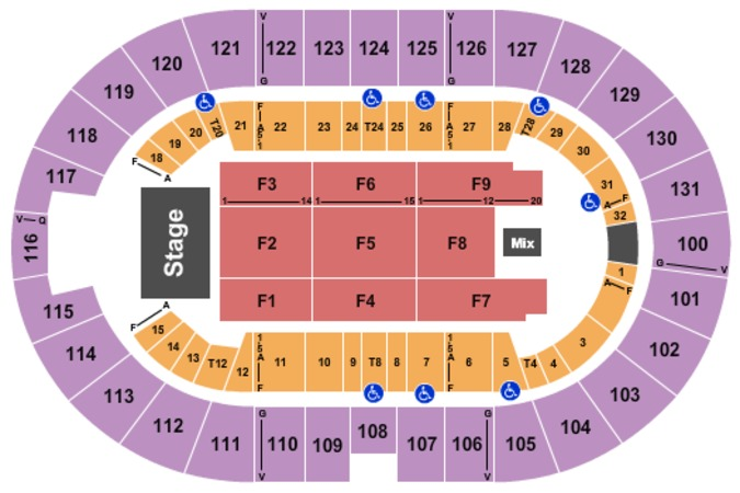 Freeman Coliseum Tickets In San Antonio Texas Freeman