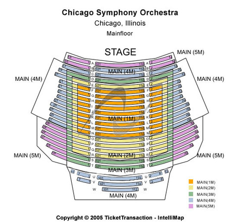Chicago symphony center tickets in chicago illinois seating charts