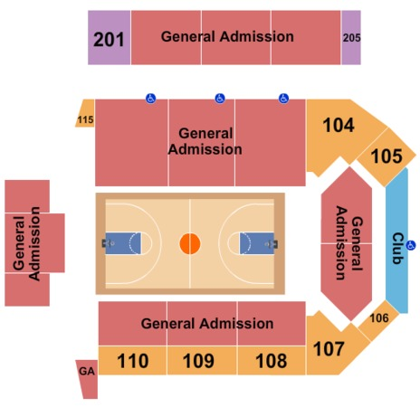 Virginia State University - Multi-Purpose Center Basketball