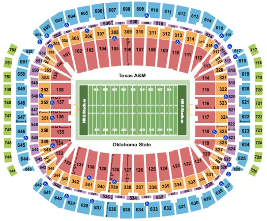NRG Stadium 2019 Texas Bowl