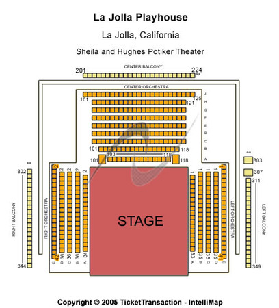 La Jolla Playhouse Center Stage