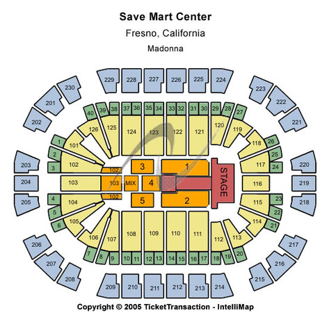 Save Mart Center T-Stage
