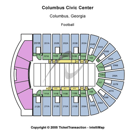 Columbus Civic Center Basketball