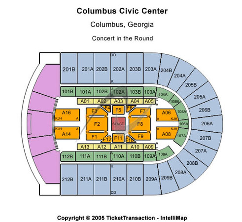 Columbus Civic Center Center Stage