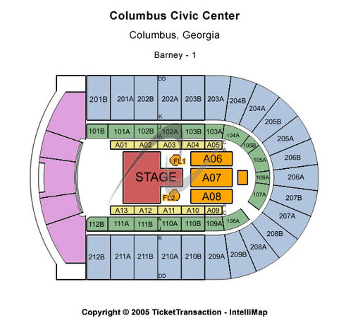 Columbus Civic Center T-Stage