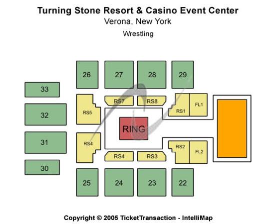 Turning Stone Casino Seating Chart