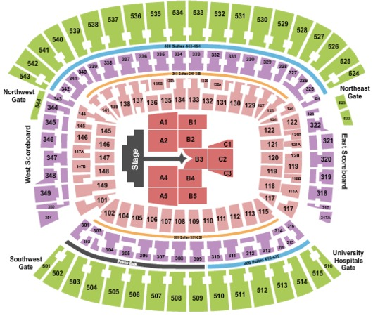 FirstEnergy Stadium Justin Bieber