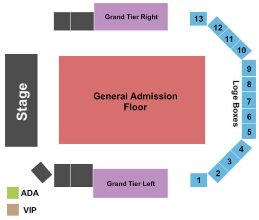 Aragon Ballroom Tickets in Chicago Illinois, Seating ...