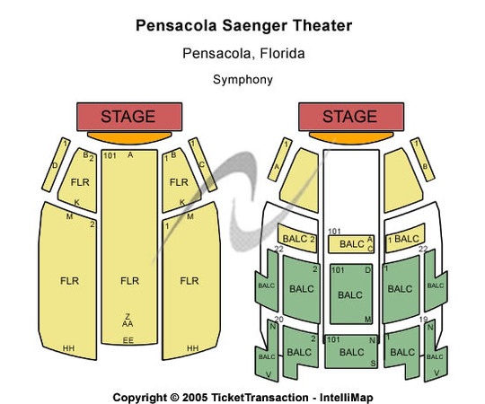 Saenger Theatre T-Stage