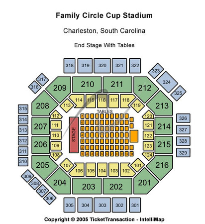 Volvo Car Stadium At Family Circle Tennis Center Tickets In