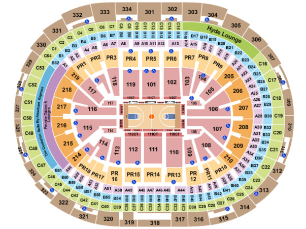 Staples Center Basketball Clippers Row