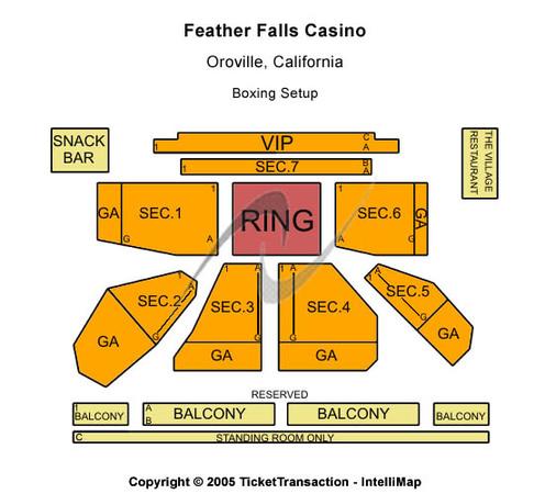 Feather falls casino entertainment