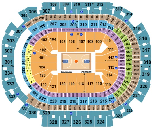 American Airlines Center NCAA Basketball