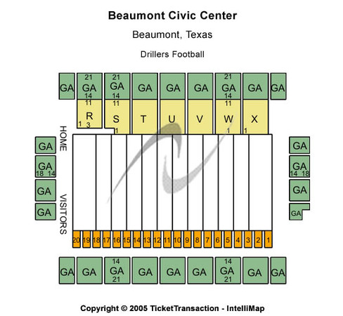 Beaumont Civic Center Hockey