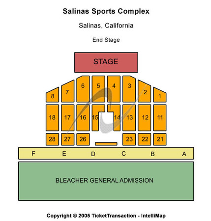 Salinas Sports Complex End Stage