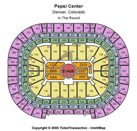 Pepsi Center In the Round