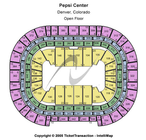 Pepsi Center Open Floor
