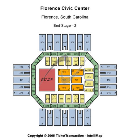 Florence Civic Center End Stage 2