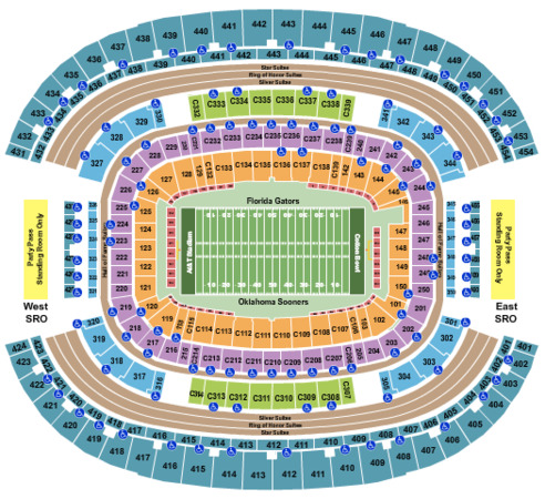 AT&T Stadium 2020 Cotton Bowl