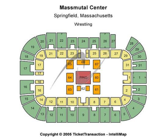Massmutual Center Wrestling
