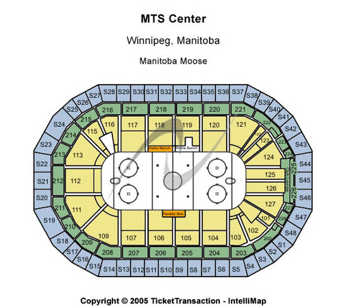 Bell MTS Place Manitoba Moose