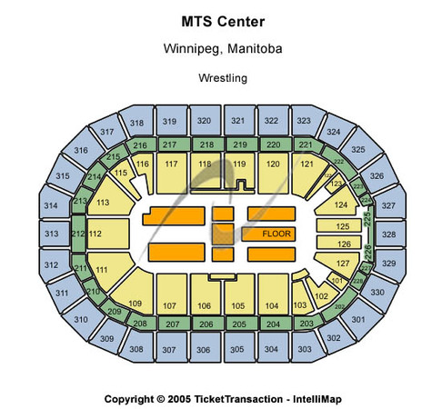 Bell MTS Place Wrestling