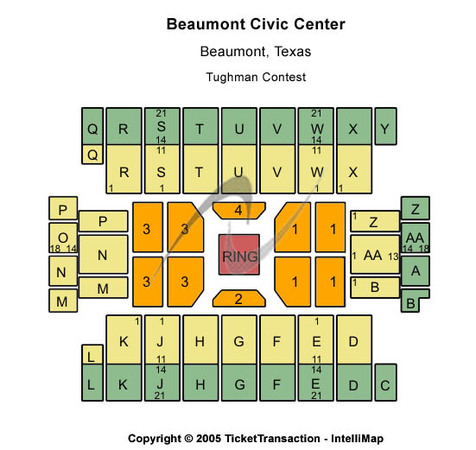 Beaumont Civic Center Tughman Contest