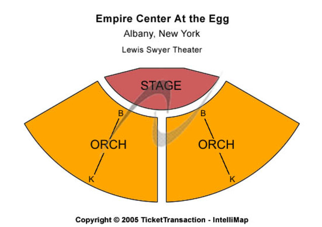 Empire Center At The Egg Lewis Swyer Theater