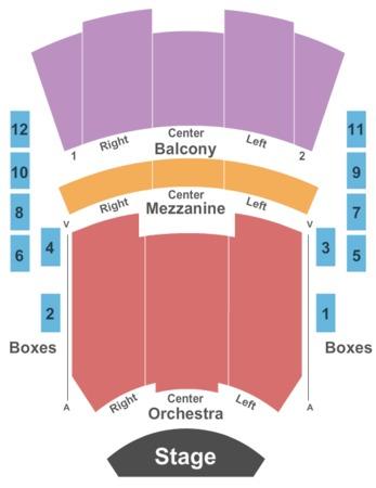 Harrison Opera House Tickets In Norfolk Virginia Seating