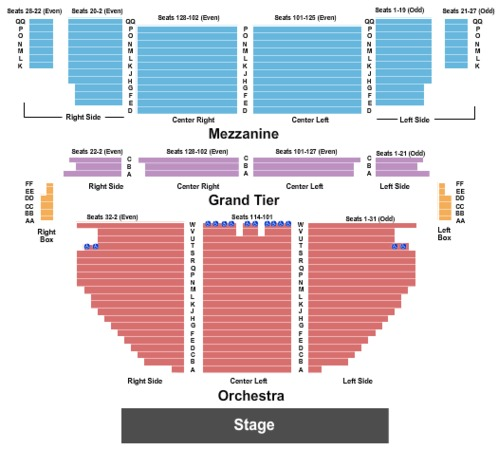 Stamford Center For The Arts Palace Theatre Tickets In